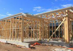 Construction framed timber in Adelaide, Australia